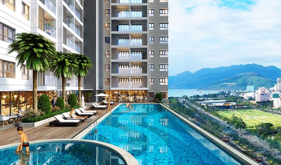View biển Grand Center Quy Nhơn