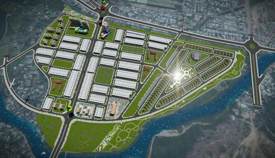 Thông tin đấu giá Dự án khu đô thị Nam đường Hùng Vương