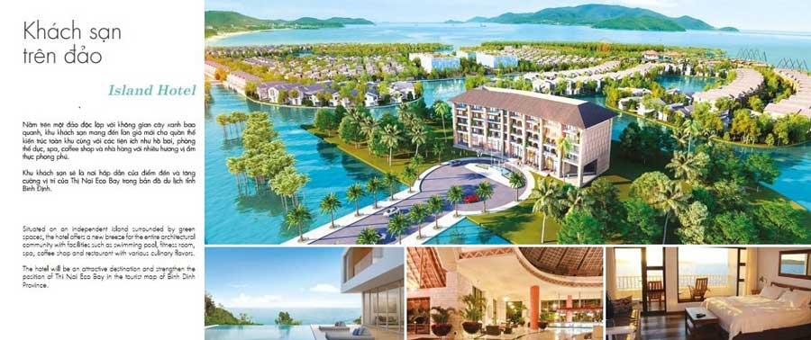 Khu khách sạn tại Eco Bay Quy Nhơn