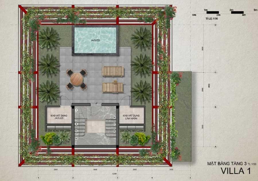 Thiết kế biệt thự Eco Bay Quy Nhơn
