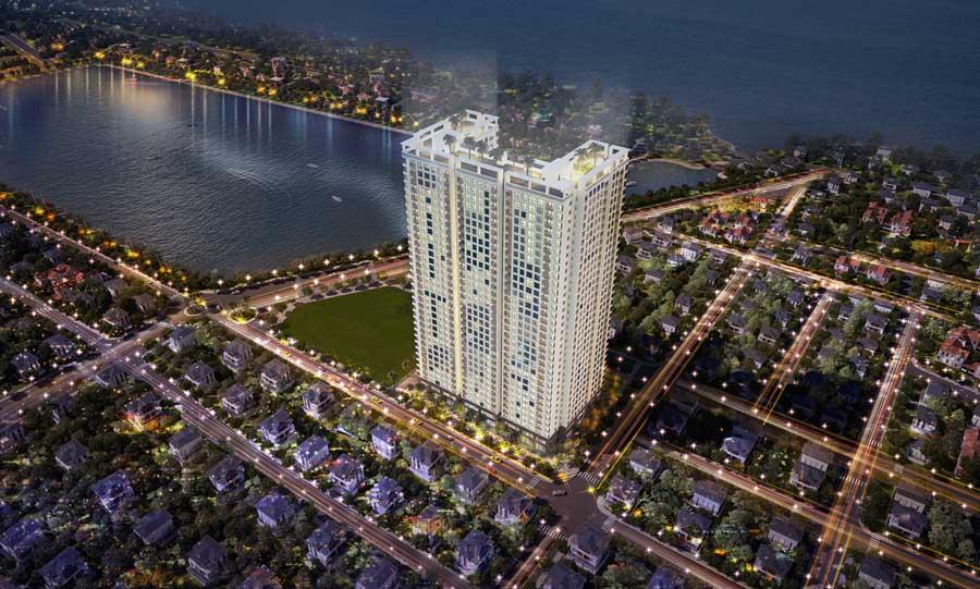Phối cảnh dự án Phú Tài Residences