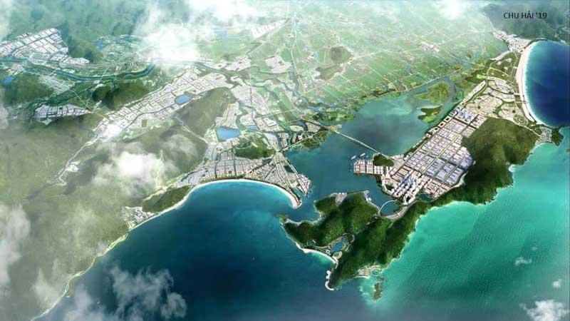 Quy hoạch khu KTT Nhơn Hội và Hải Giang Bay