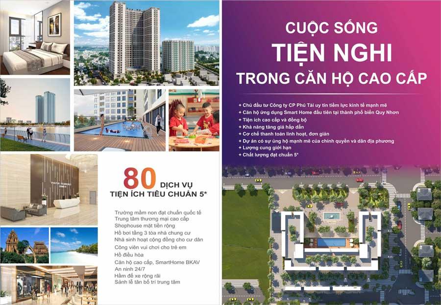 Tiện ích khu căn hộ Phú Tài Residences