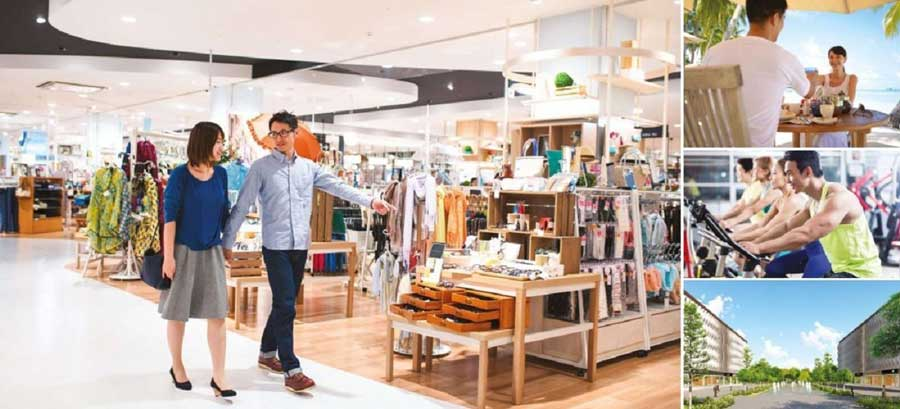 Khu trung tâm mua sắm tại Quy Nhơn Eco Bay