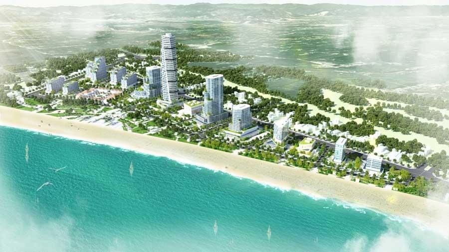Quy hoạch 1/500 Khu khách sạn tại điểm số 1 biển Nhơn Lý – Cát Tiến