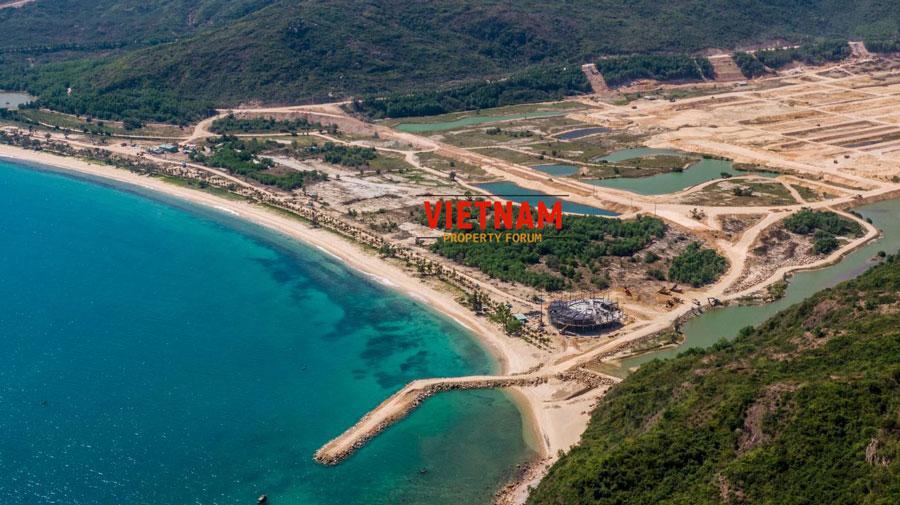 """Cập nhật tiến độ """"siêu dự án"""" Hải Giang Merry Land tại Quy Nhơn"""