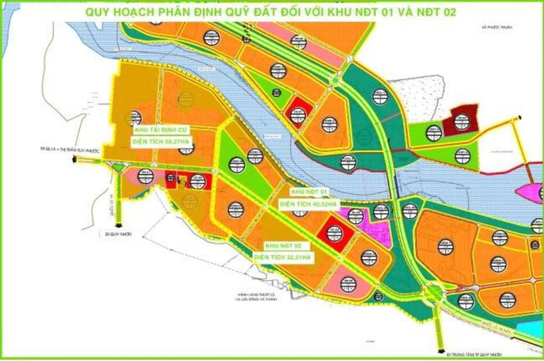 Bình Định ký quyết định chấp thuận đầu tư 4 dự án khu đô thị tại Quy Nhơn