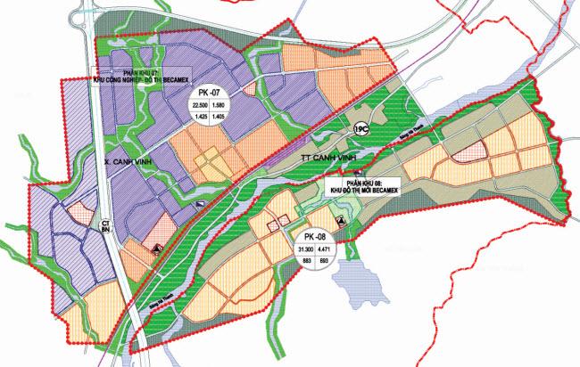 Phê duyệt nhiệm vụ quy hoạch 1/2000 Khu Đô thị – Dịch vụ Becamex B (Phân khu 8)