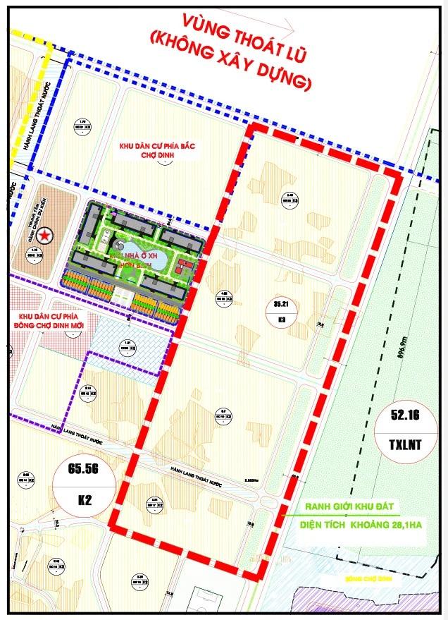 Bình Định tìm chủ cho Khu đô thị mới Nhơn Bình 2.100 tỷ đồng