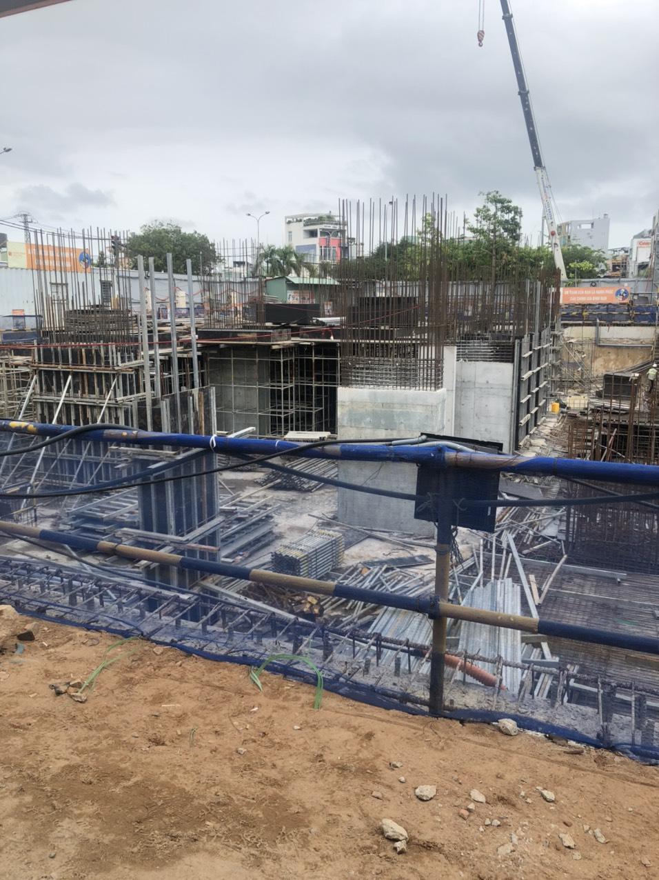 Tiến độ thi công dự án Grand Center Quy Nhơn tháng 3/2021