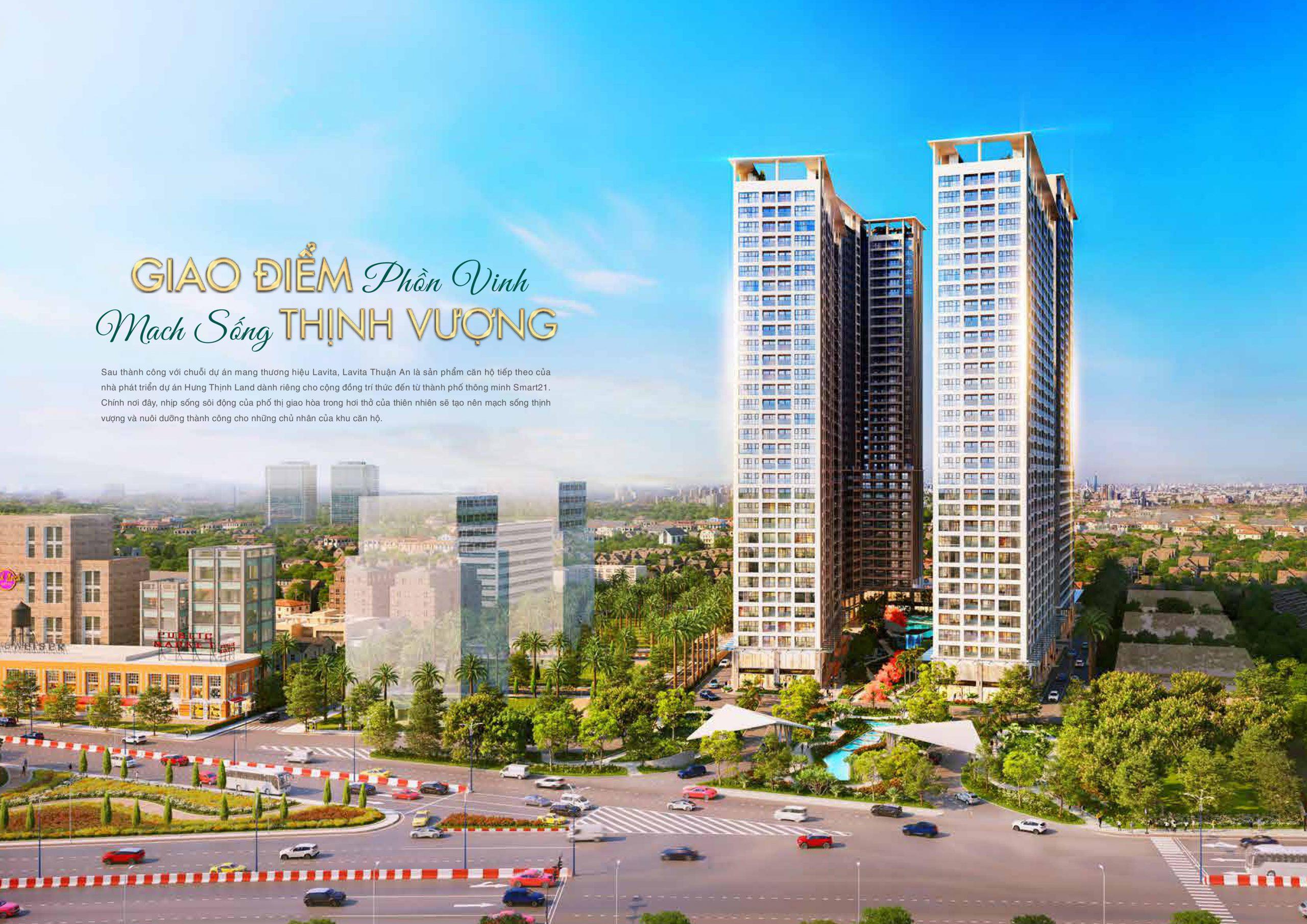 Giá bán dự án căn hộ Lavita Thuận An
