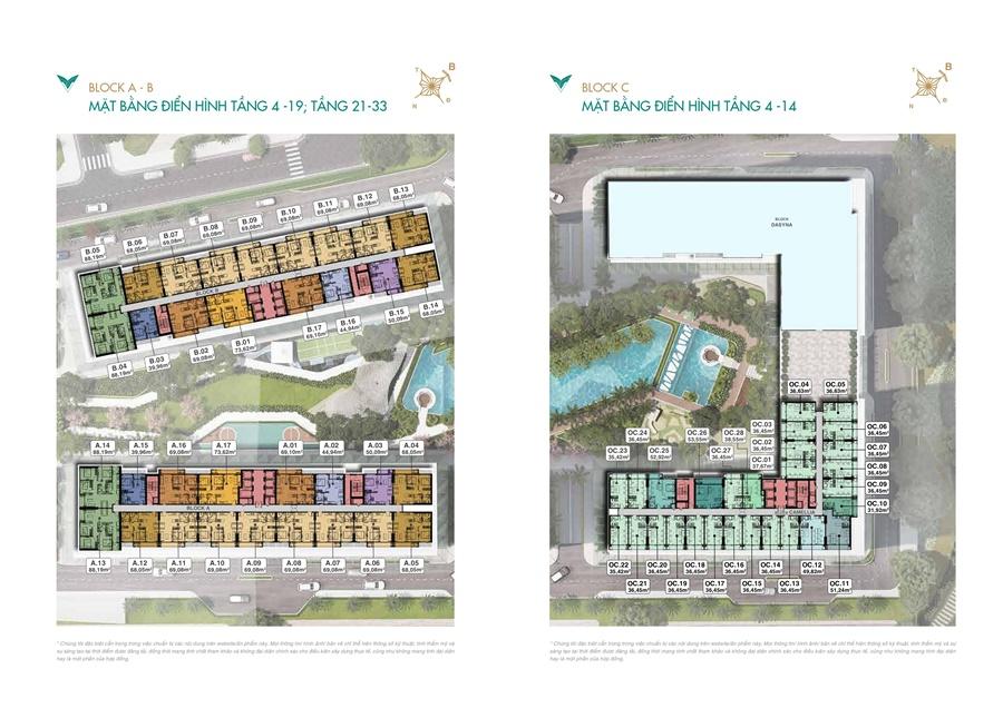 Mặt bằng điển hình căn hộ Lavita Thuận An Bình Dương