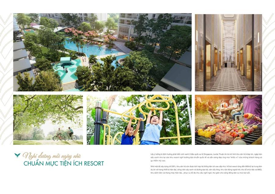 Tiện ích nội khu căn hộ Lavita Thuận An Bình Dương