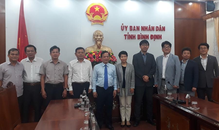 Samsung Engineering khảo sát đầu tư tại Bình Định