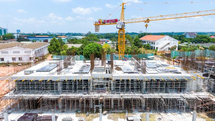 Tiến độ thi công dự án căn hộ Lavita Thuận An tháng 4/2021