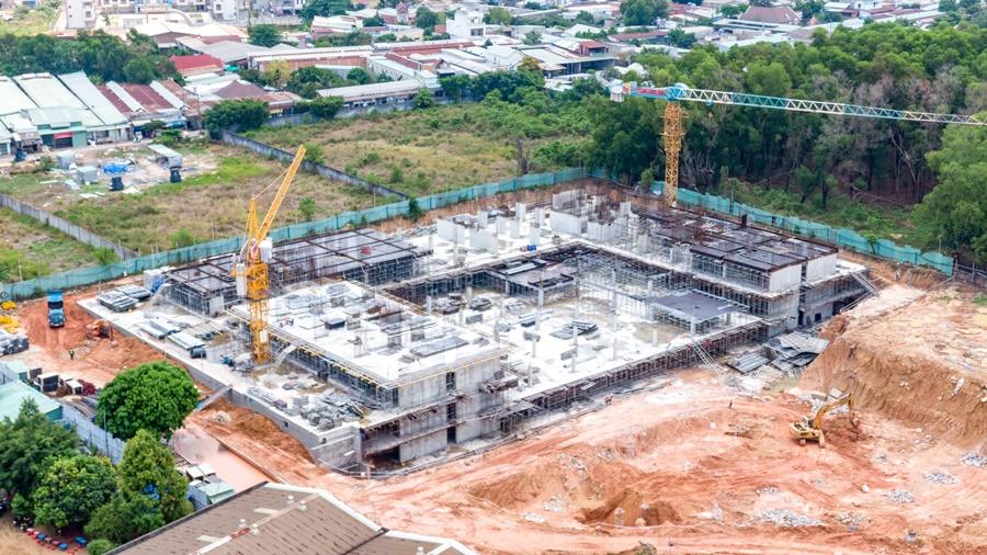 Tiến độ thi công dự án căn hộ Lavita Thuận An