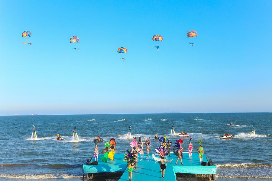 Quy Nhơn sẽ có hoạt động trò chơi thể trên biển để phục vụ du lịch vào tháng 6