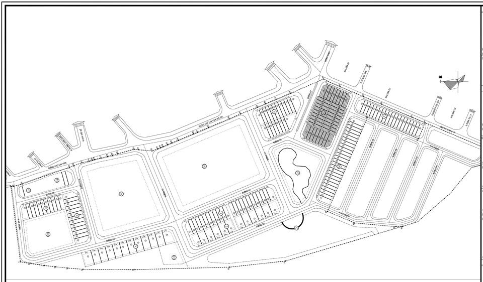 Mặt bằng tổng thể dự án Richmond Quy Nhơn