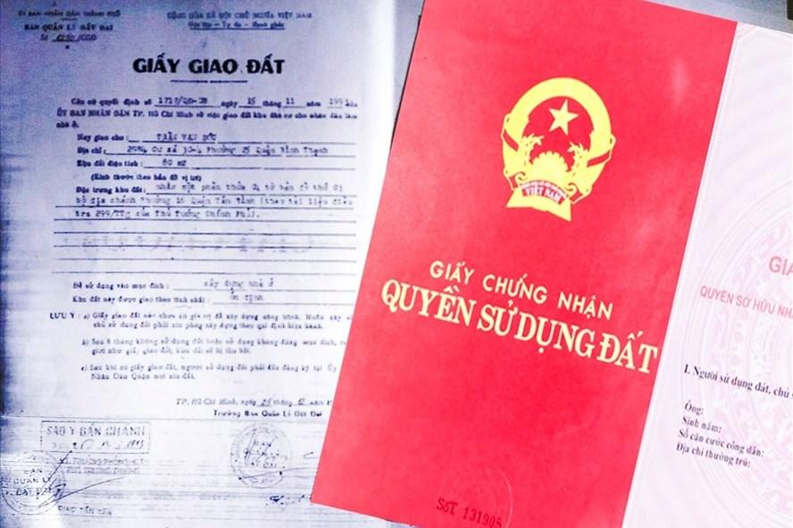 Phân biệt sổ đỏ và giấy tờ về quyền sử dụng đất