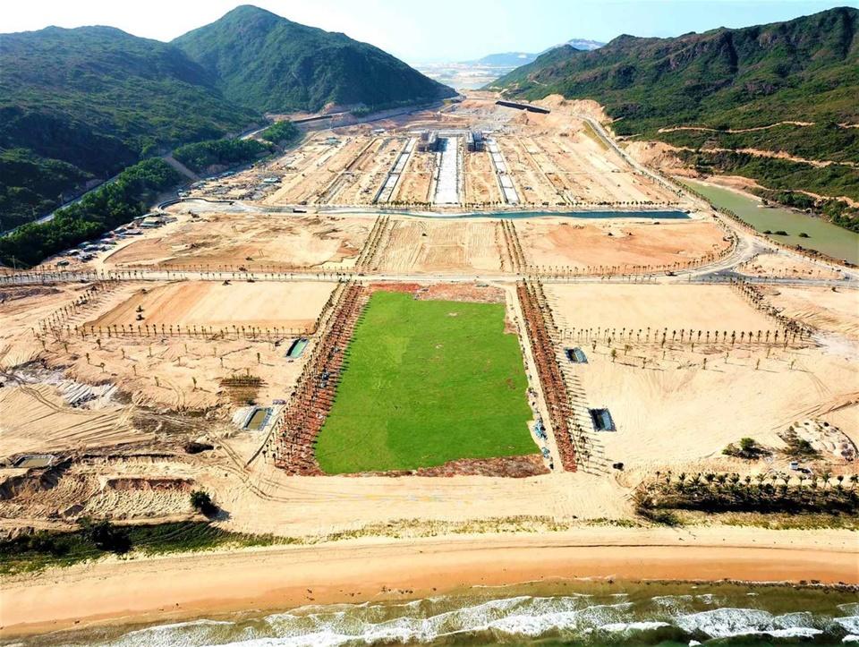 Tiến độ thi công mới nhất dự án Hải Giang Merry Land tháng 5/2021