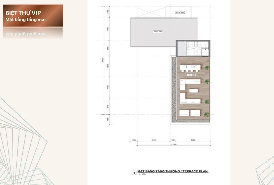 Thiết kế chi tiết biệt thự đơn lập Vip