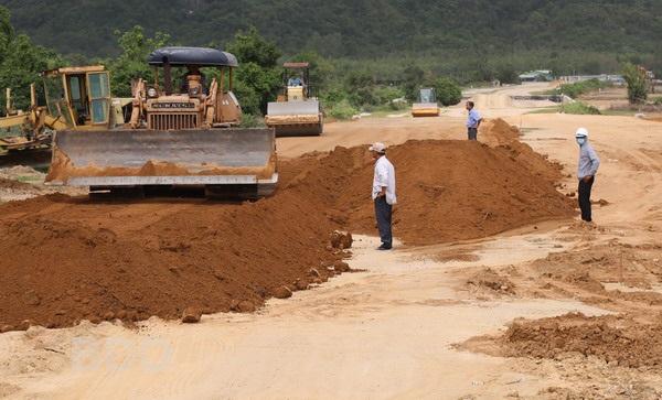 Dự án tuyến đường ven biển thụôc địa bàn Tx Hoài Nhơn