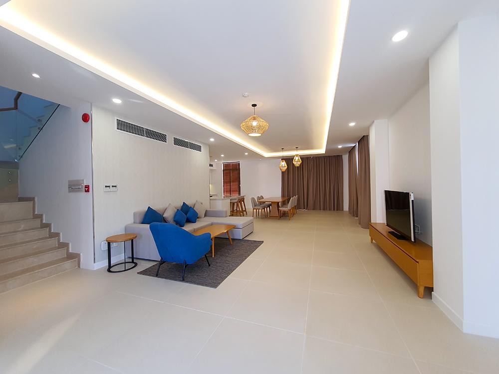 Hoàn thiện lắp đặt nội thất các căn biệt thự