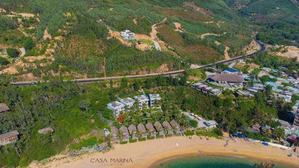 Tiến độ thi công biệt thự Casa Marina Premium