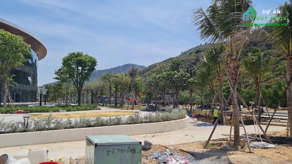 Hình ảnh thi công dự án Merry Land Quy Nhơn