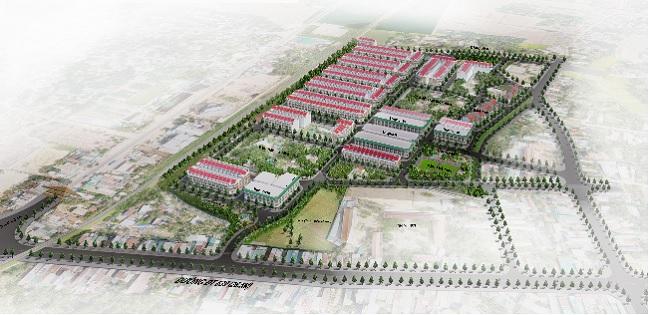 Phối cảnh khu đo thị Phú Mỹ Lộc, Hoài Nhơn, bình Định