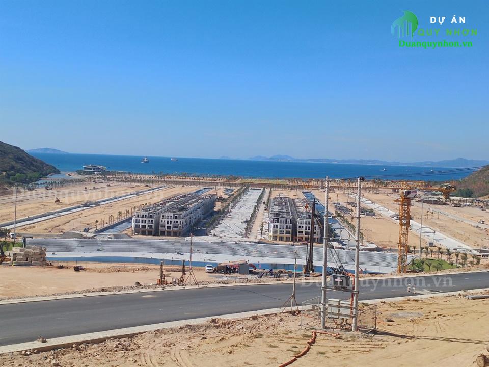 Tiến độ thi công tháng 8/2021 dự án Merry Land Quy Nhơn