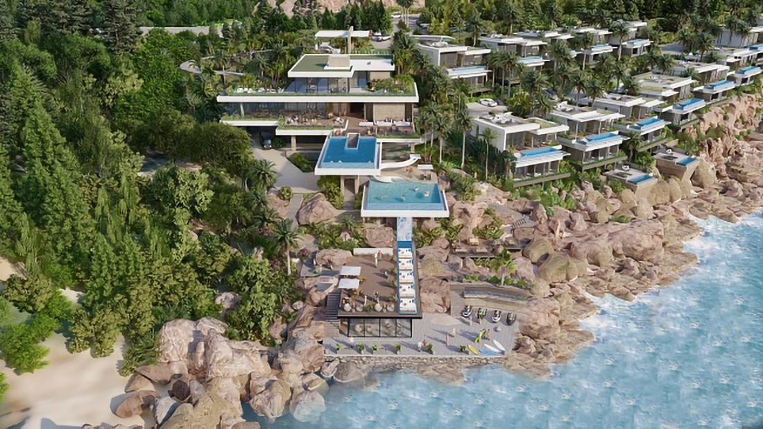 Bình Định điều chỉnh quy hoạch 1/500 Khu biệt thự nghỉ dưỡng Bãi Xép