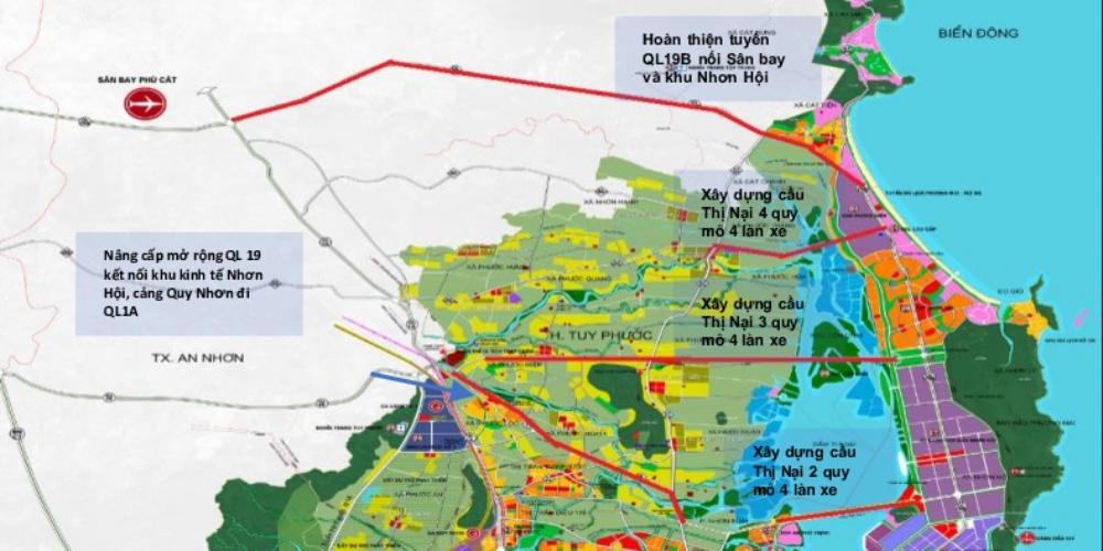 Bản đồ quy hoạch giao thông tỉnh Bình Định đến năm 2035