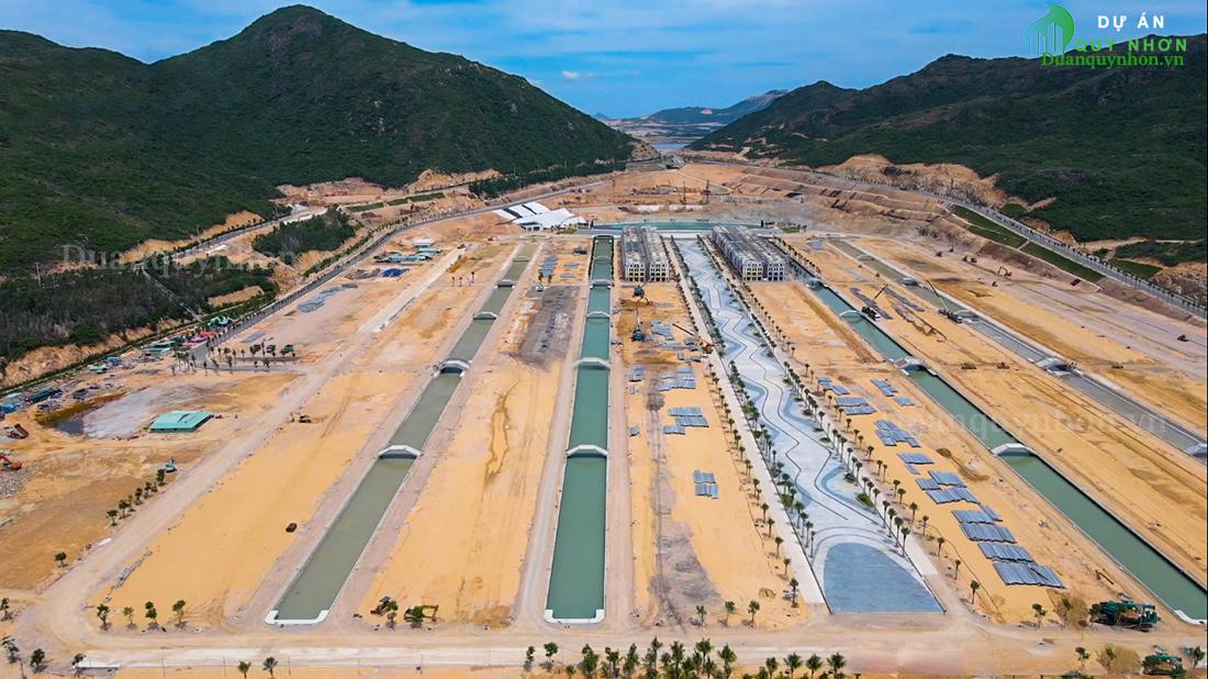 Tiến độ thi công tháng 10/2021 dự án Hải Giang Merry Land
